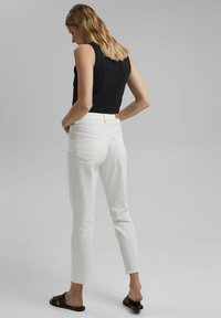 Esprit - Straight leg jeans - off white - 2