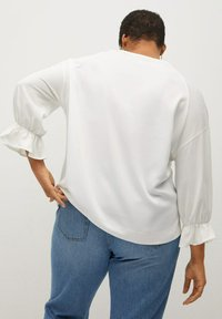 Violeta by Mango - SABRINA - Long sleeved top - cremeweiß - 2