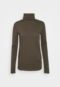 Marc O'Polo DENIM - LONG SLEEVE TURTLE NECK - Long sleeved top - utility olive - 0