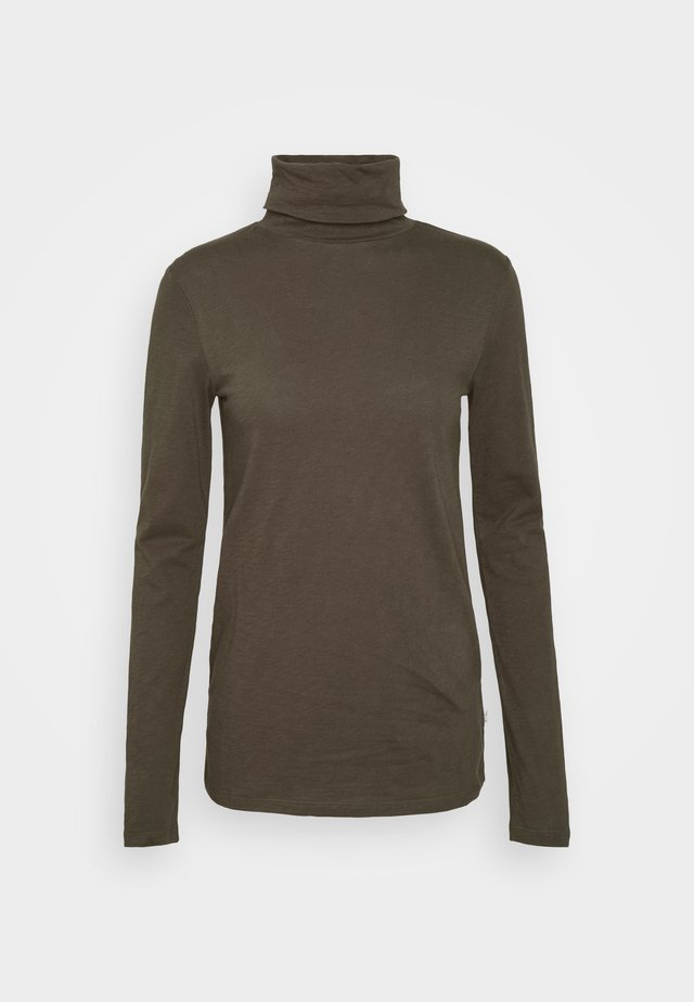LONG SLEEVE TURTLE NECK - Longsleeve - utility olive