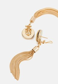 Anton Heunis - DISC WITH TASSEL - Earrings - blue/gold-coloured - 1