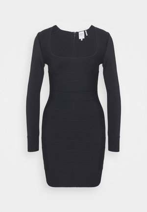 DRESS - Etuikjole - black