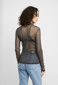 Nly by Nelly - SPARKLING - Long sleeved top - silver - 2