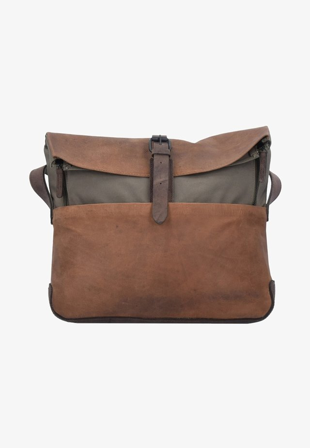 TWISTER MESSENGER  - Across body bag - brown