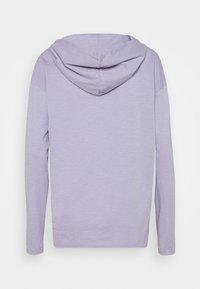 edc by Esprit - HOODY - Long sleeved top - purple - 1