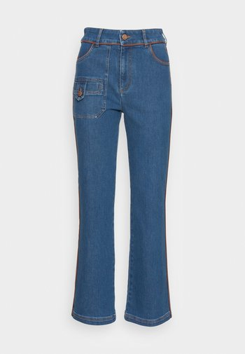 Flared Jeans - truly navy
