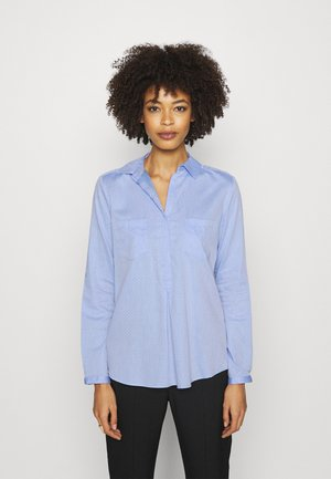 FALENTA DOBBY - Button-down blouse - blue mood