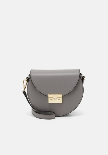 SANDVIKA - Across body bag - mid grey