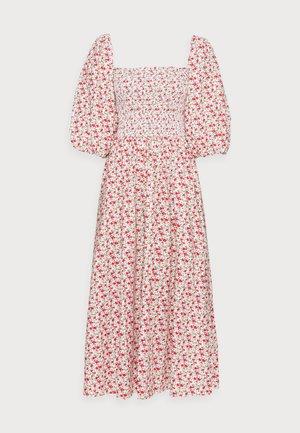 EBONY DRESS - Day dress - red