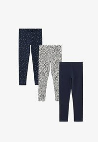 Mango - 3 PACK - Leggings - Trousers - royal blue - 0