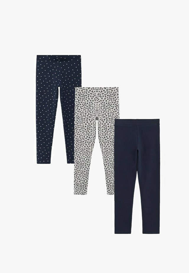 3 PACK - Leggings - Trousers - royal blue