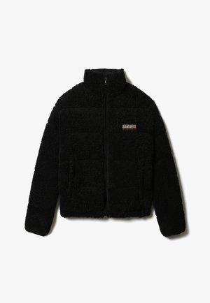 A-BOX BORG - Fleece jacket - black