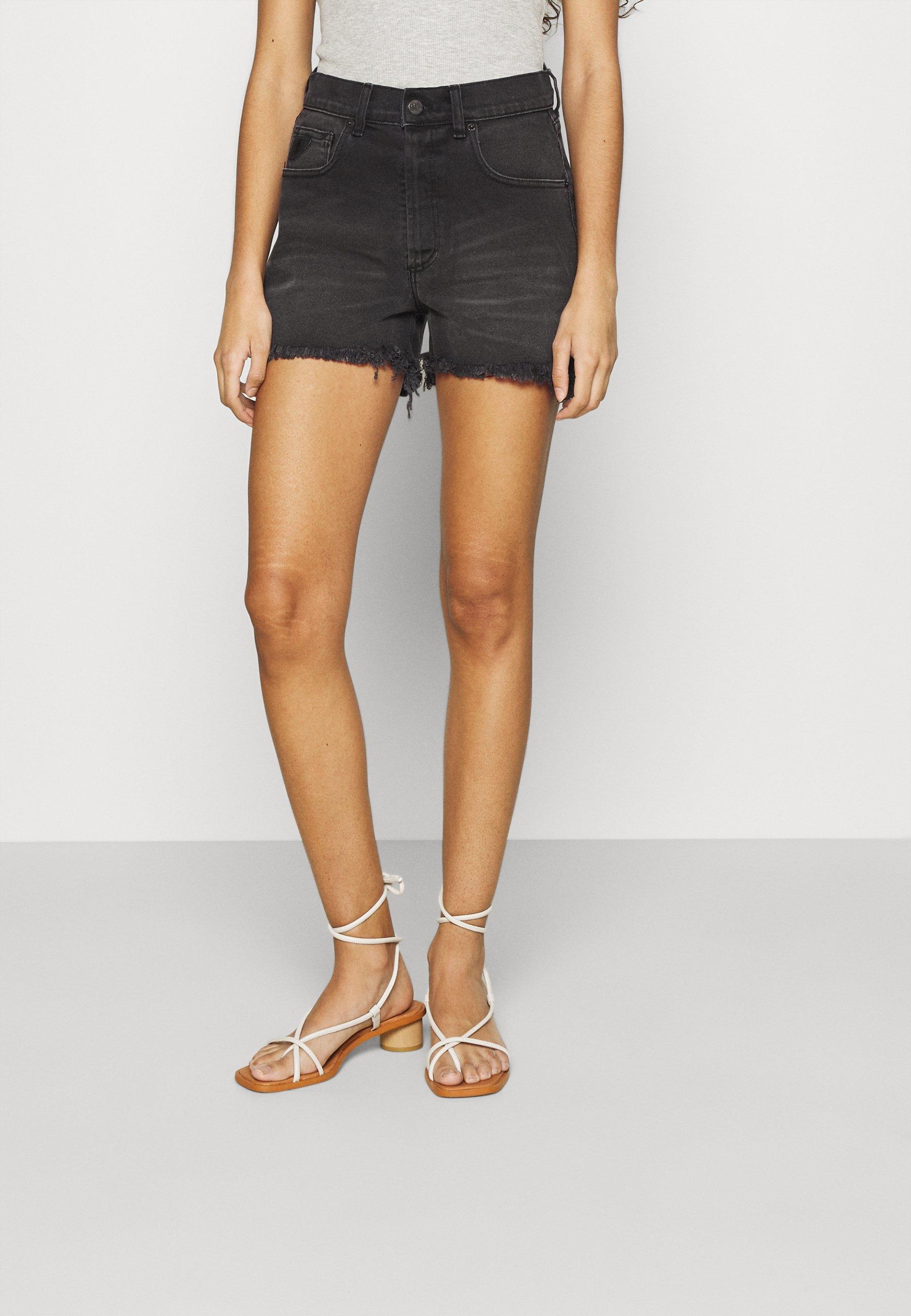 Damer SANTA - Jeans Short / cowboy shorts