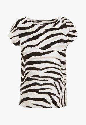 UPTOWN  - Print T-shirt - dark brown multi