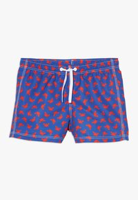 Benetton - SWIM TRUNKS - Uimashortsit - blue/red - 0