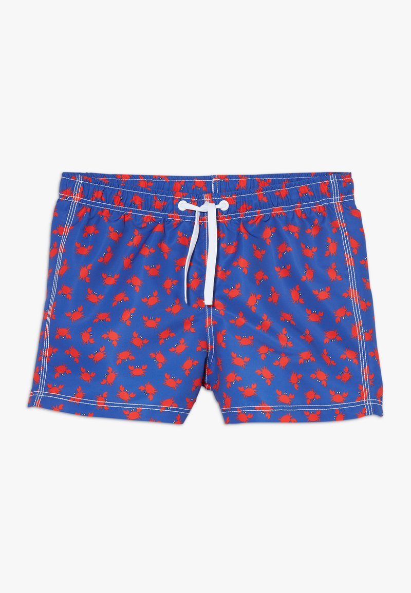 Benetton - SWIM TRUNKS - Uimashortsit - blue/red