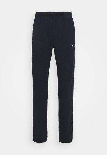STRAIGHT HEM PANTS - Træningsbukser - dark blue