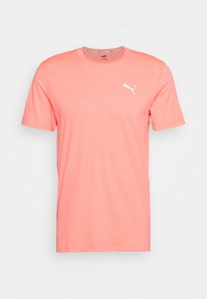 RUN FAVORITE TEE - Print T-shirt - nrgy peach heather