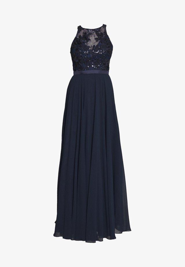 Festklänning - navyblau