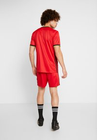 adidas Performance - BELGIUM RBFA HOME SHORTS - Short de sport - red - 2