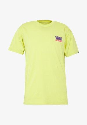 EYES OPEN - T-shirt z nadrukiem - sulphur spring