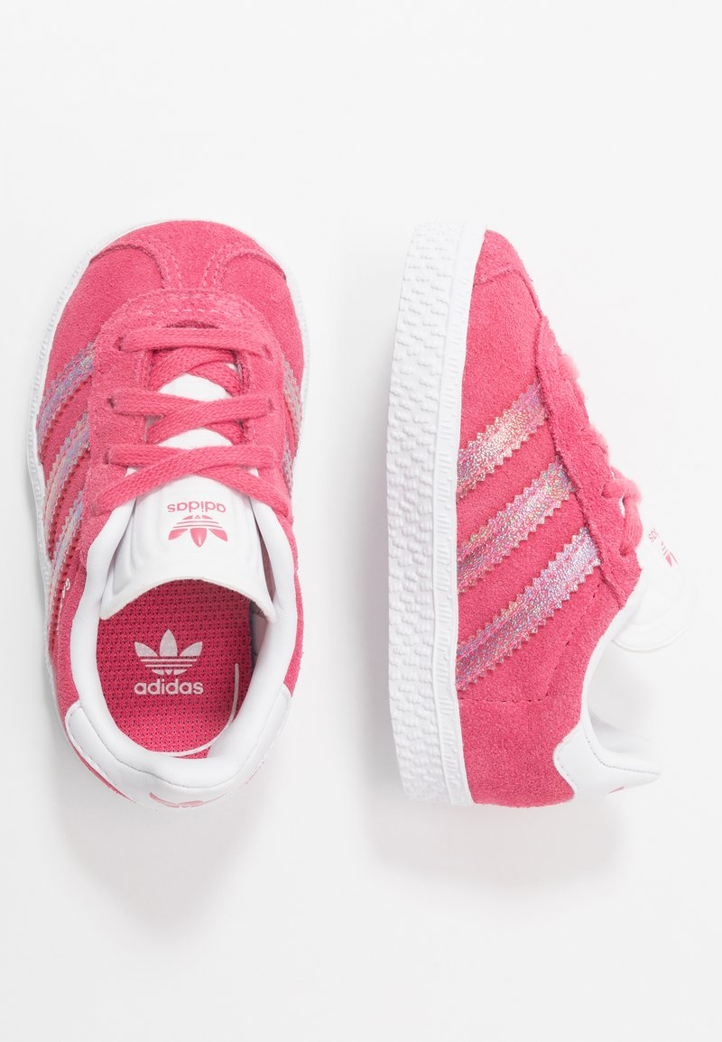 adidas Originals - GAZELLE - Baskets basses - real pink/footwear white
