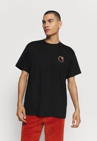 Carhartt WIP - COMMISSION LOGO - Print T-shirt - black - 0