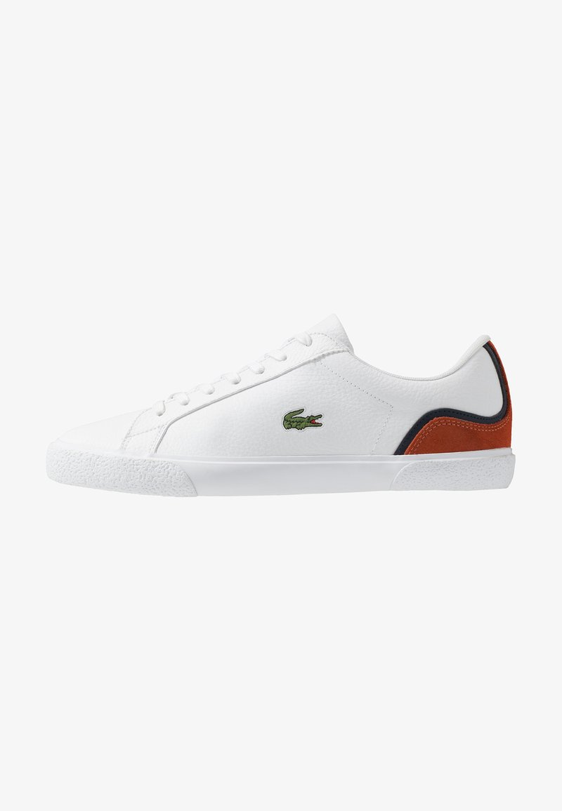 Lacoste - LEROND - Sneakers - white/orange
