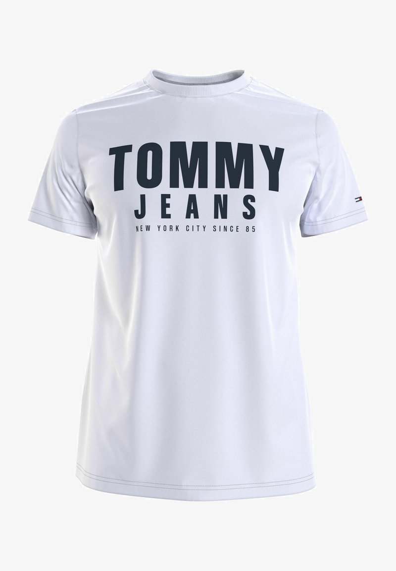 Tommy Jeans - Print T-shirt - white