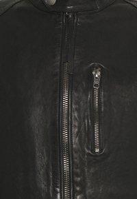 Tigha - HUTCH - Leather jacket - black - 6