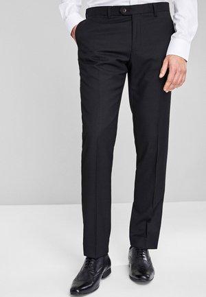 Suit trousers - mottled beige