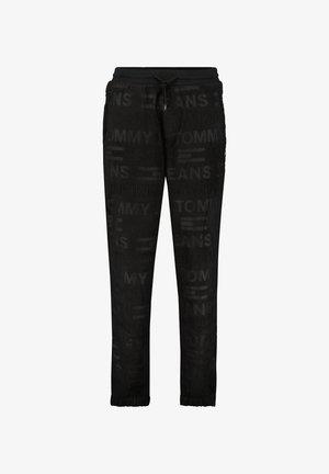 FLEECEHOSE  - Pantaloni sportivi - schwarz