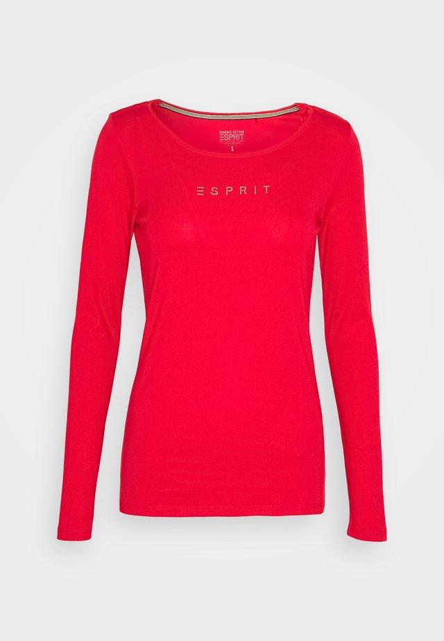 CORE - Camiseta de manga larga - red