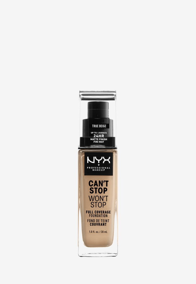 Nyx Professional Makeup - CAN'T STOP WON'T STOP FOUNDATION - Foundation - 8 true beige