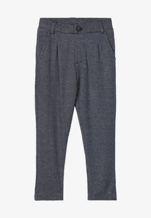 GEMUSTERTE - Suit trousers - dark sapphire