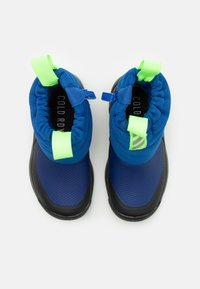 adidas Performance - ACTIVESNOW C.RDY UNISEX - Winter boots - team royal blue/reflective silver/signal green - 3