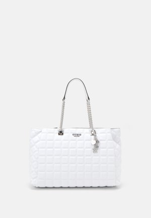 KAMINA GIRLFRIEND TOTE - Tote bag - white