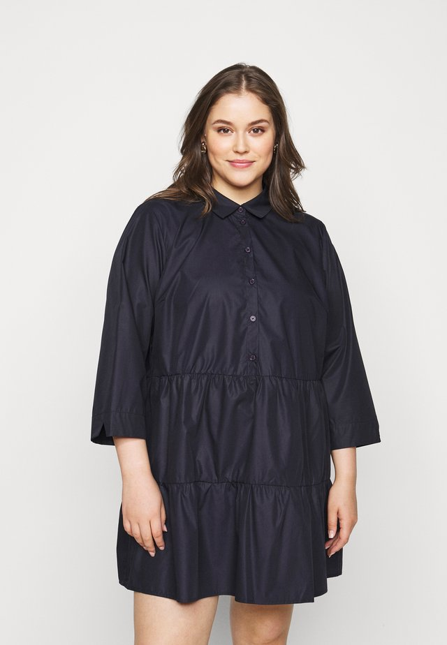 BESTA DRESS SHIRT - Robe d'été - midnight marine