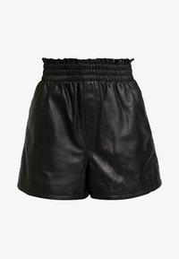 Ibana - FEAST - Leather trousers - black - 3