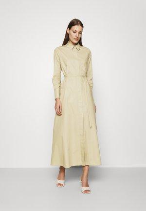 DINA VIOLA - Robe chemise - frozen olive