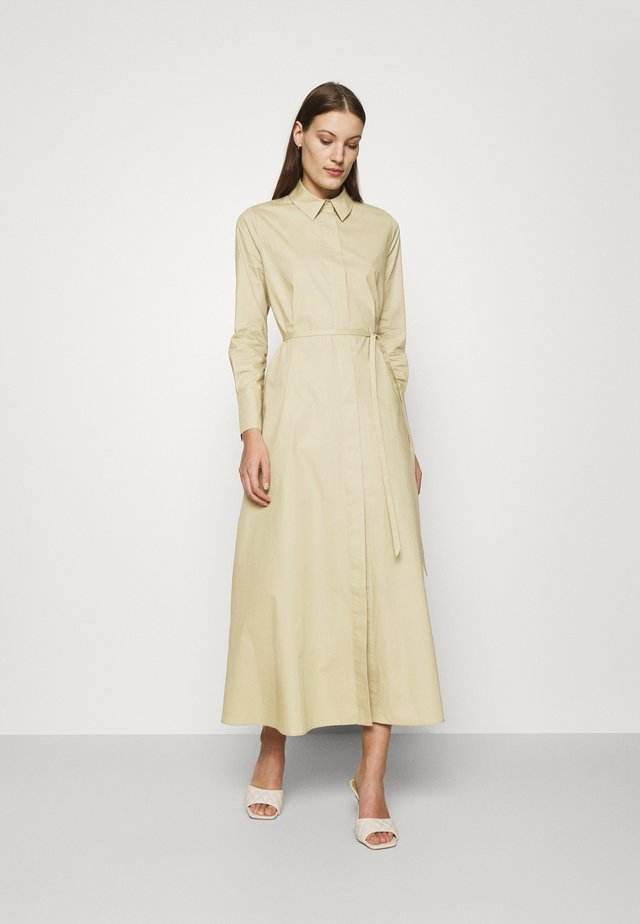 DINA VIOLA - Shirt dress - frozen olive