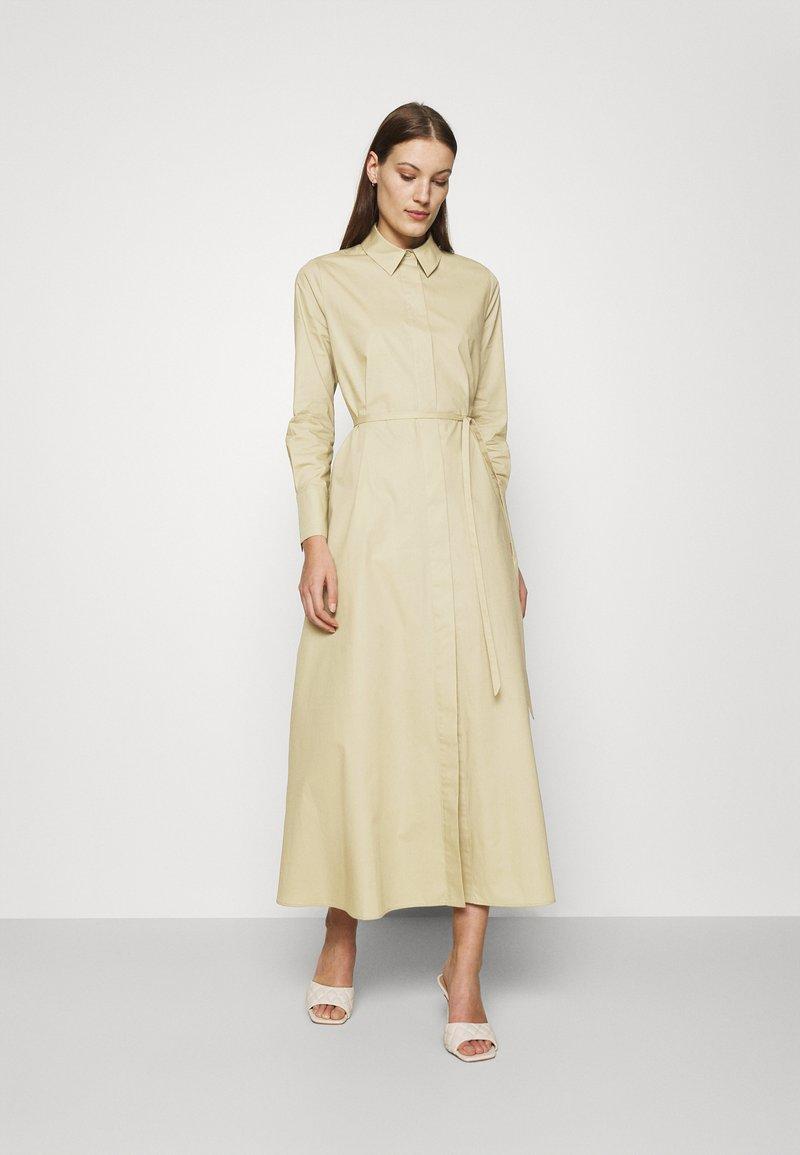 IVY & OAK - DINA VIOLA - Shirt dress - frozen olive