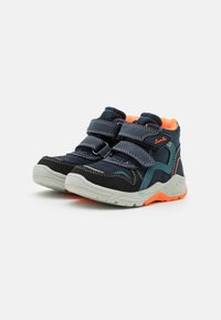 Lurchi - CHRISTIAN TEX - Classic ankle boots - dark navy/orange - 1