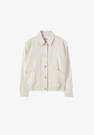 Džínová bunda - beige