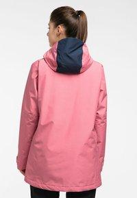 Haglöfs - LUMI INSULATED PARKA - Snowboard jacket - tulip pink/tarn blue - 1