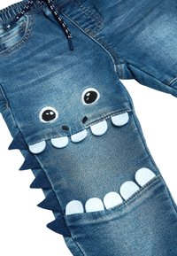 Next - MID BLUE MONSTER CHARACTER JEANS (3MTHS-7YRS) - Slim fit jeans - blue - 2