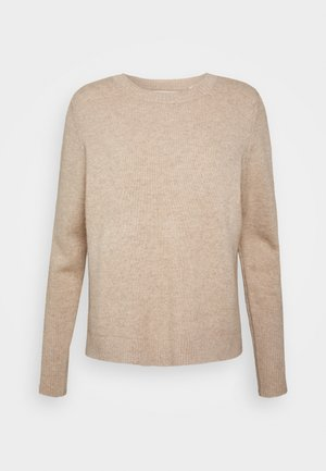 THE BOXY - Pullover - oatmeal