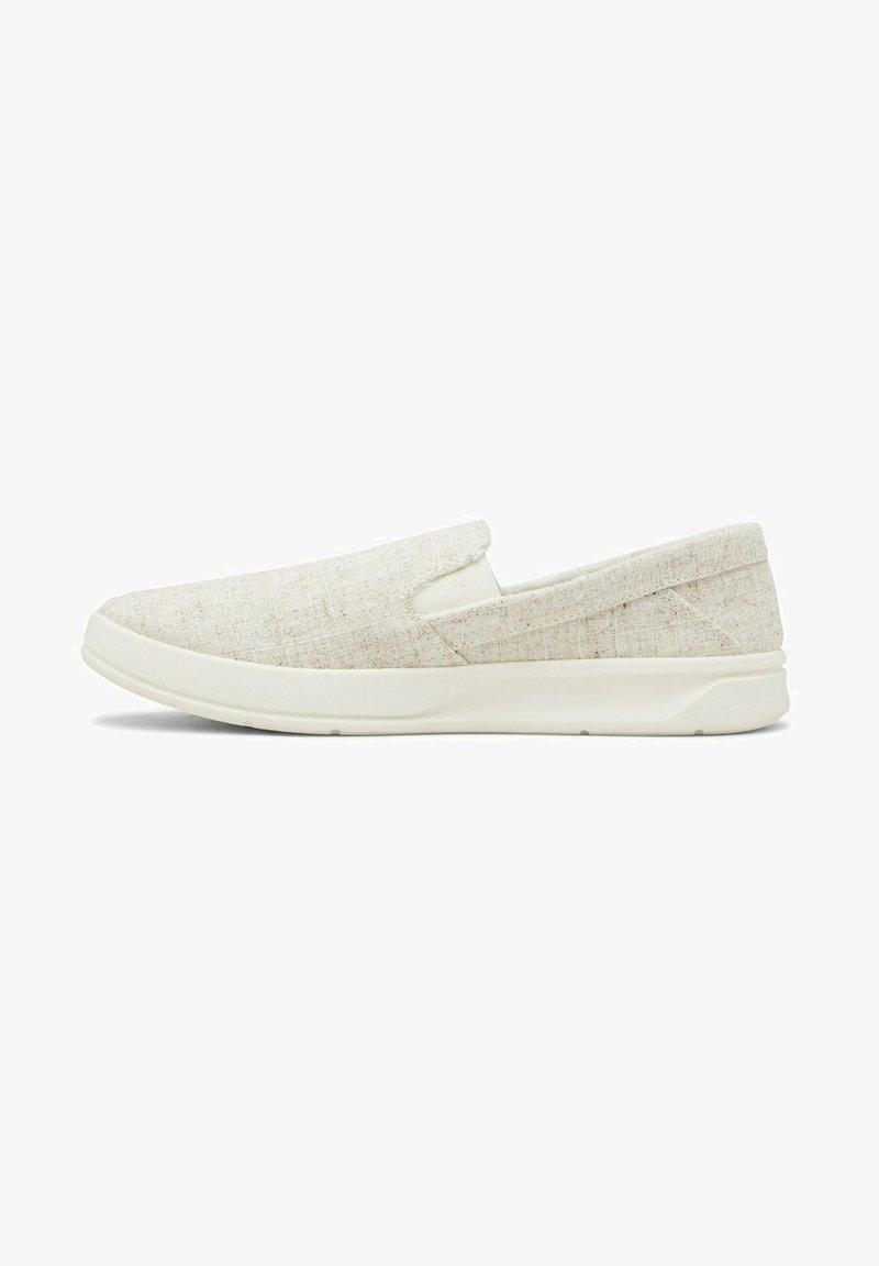 Quiksilver - Slip-ons - white/white/white