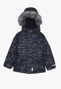 Minymo - SNOW JACKET HERRINGBONE - Veste d'hiver - blue - 0