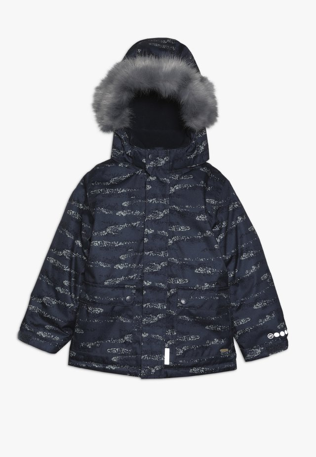 SNOW JACKET HERRINGBONE - Vinterjacka - blue